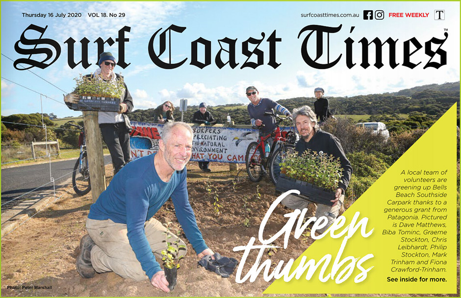 surf coast times 20200716 front page